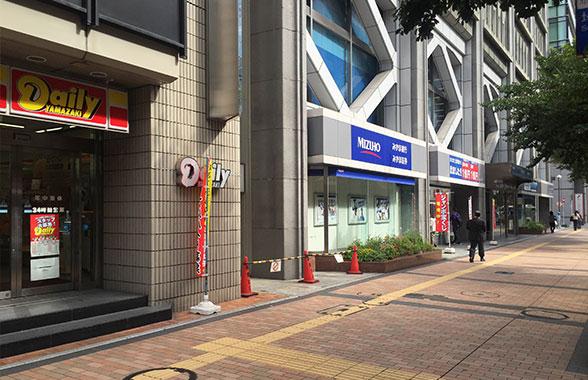 セントスタッフ福岡支店地上画像